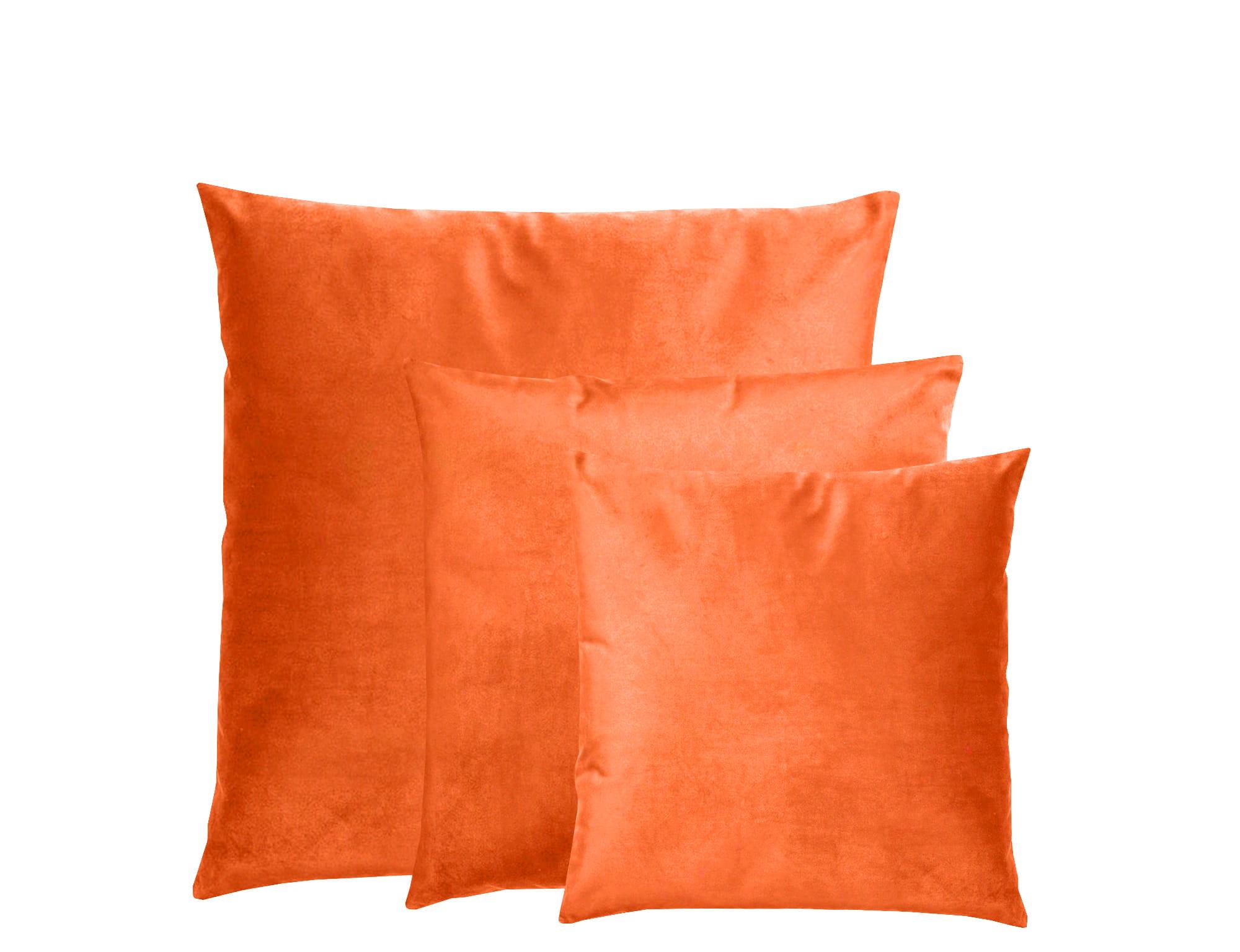 Zestaw aksamitnych poduszek dekoracyjnych Olmost Love SET kolor Pomarańczowy